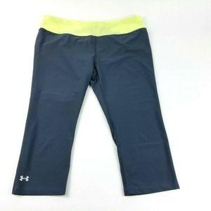 Under Armor Women's Large Gray Capri Pants